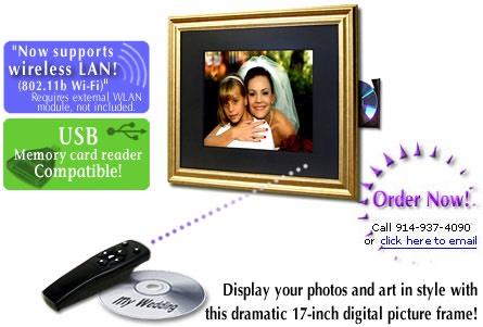 Digi-Frame DF-1710 17-inch Digital Picture Frame | Pragmatic Designs ...